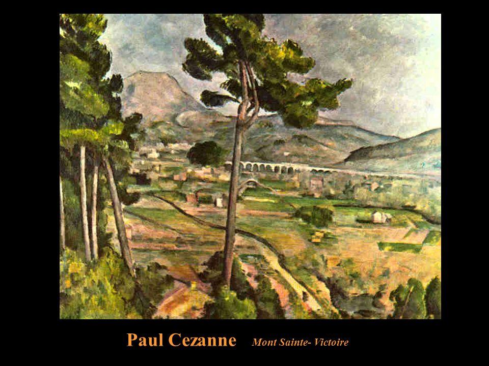 Paul Cezanne Mont Sainte- Victoire