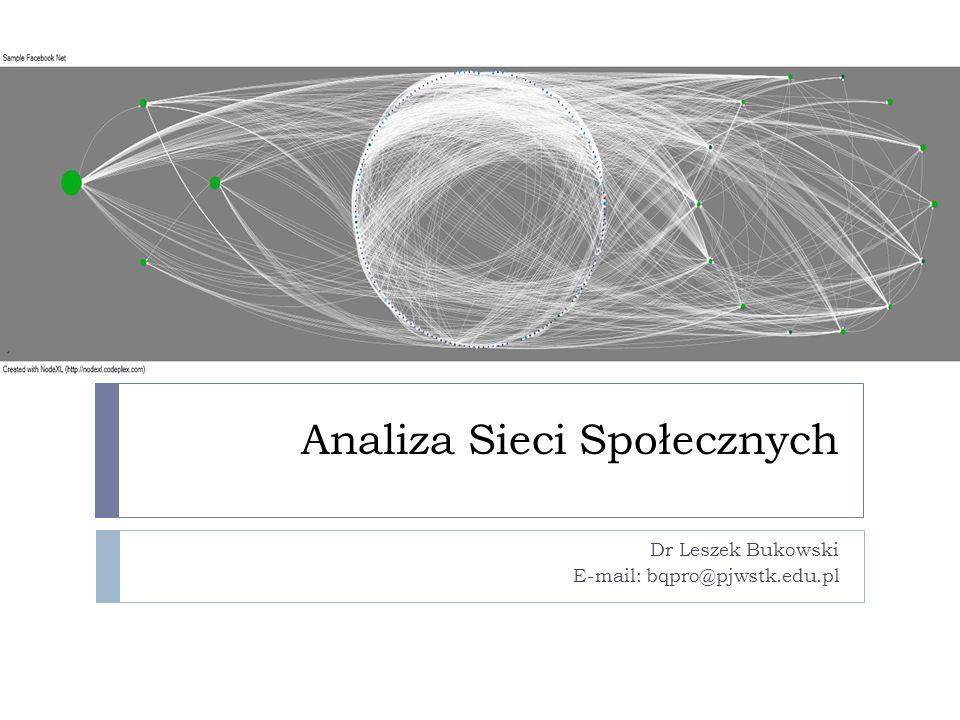 Analiza Sieci Społecznych