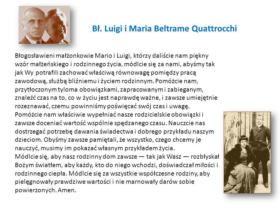 Bł. Luigi i Maria Beltrame Quattrocchi