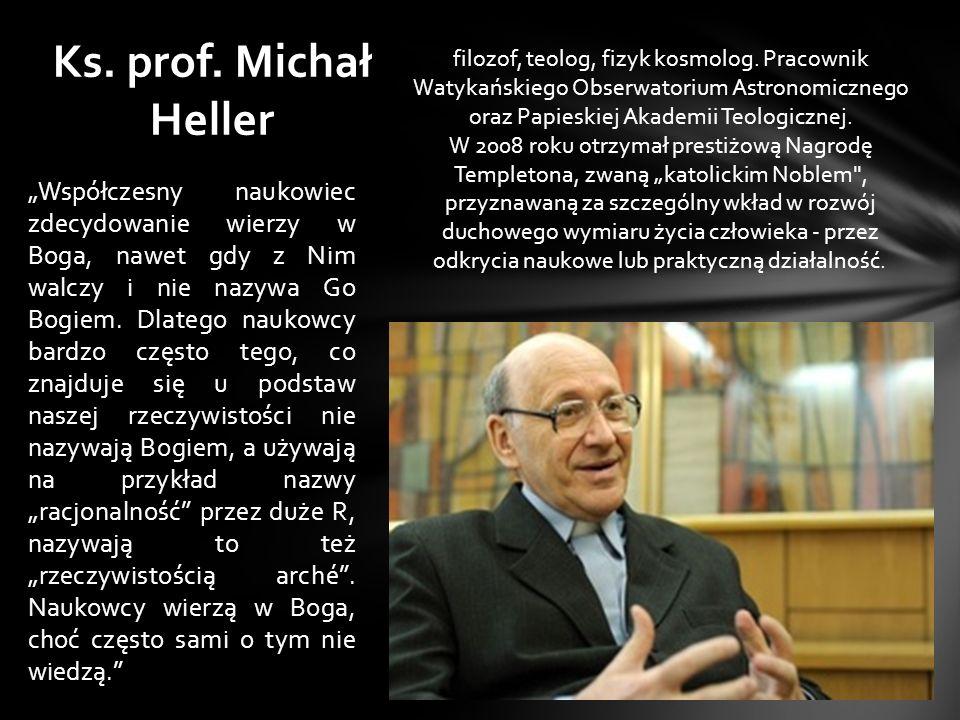 Ks. prof. Michał Heller