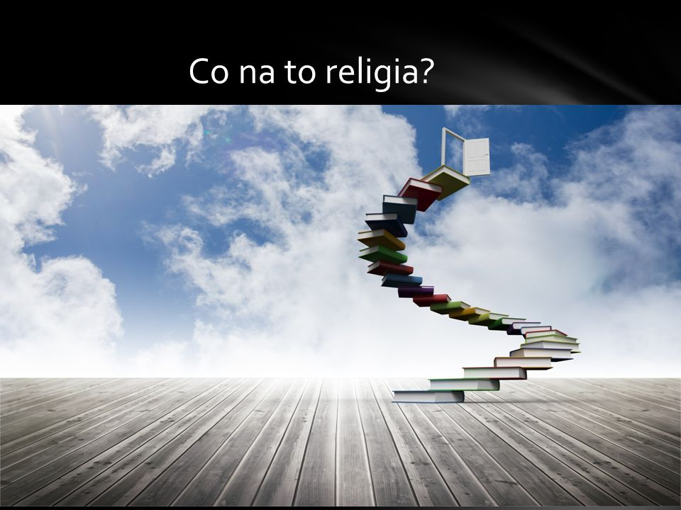 Co na to religia