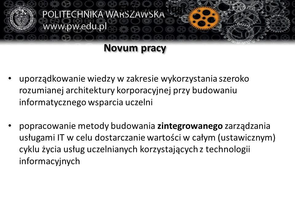 Główne usługi Novum pracy