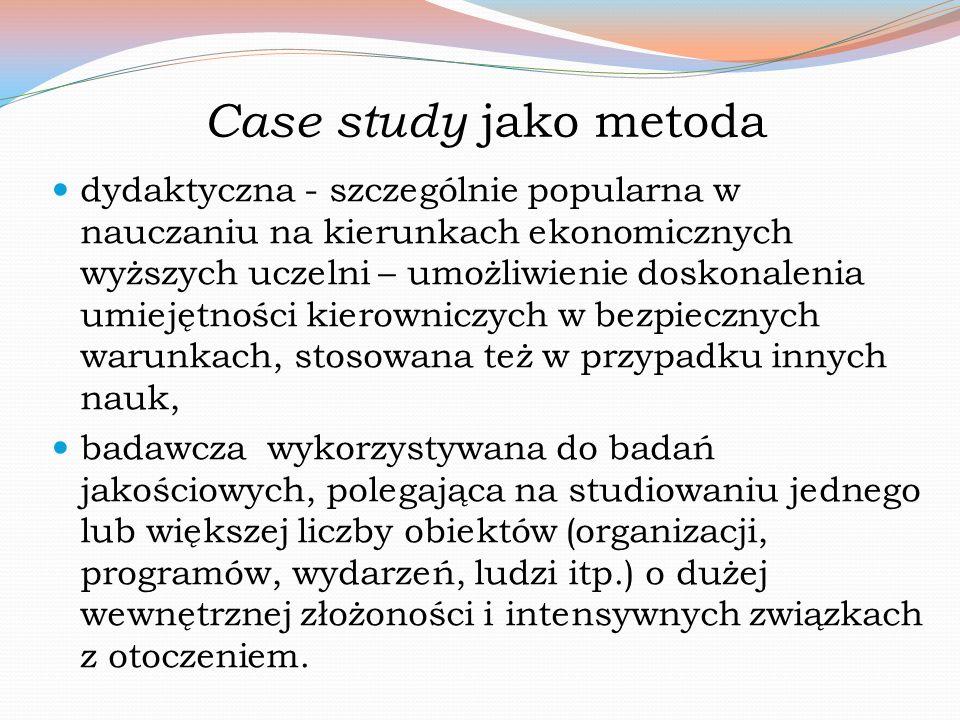 Case study jako metoda