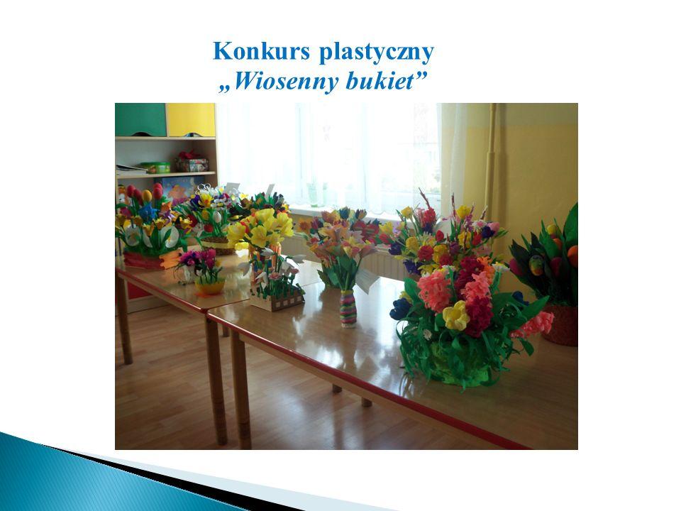 """Konkurs plastyczny """"Wiosenny bukiet"""