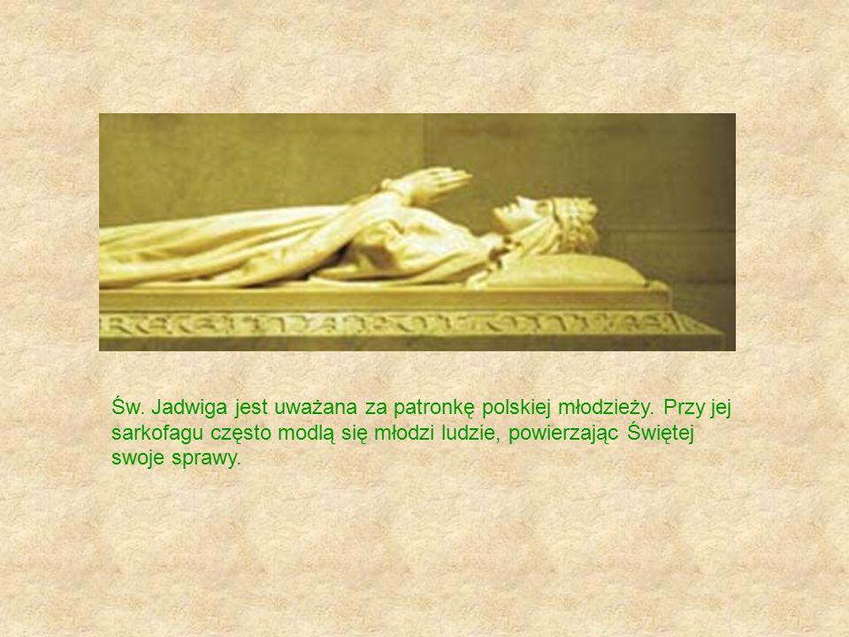 Św. Jadwiga jest uważana za patronkę polskiej młodzieży