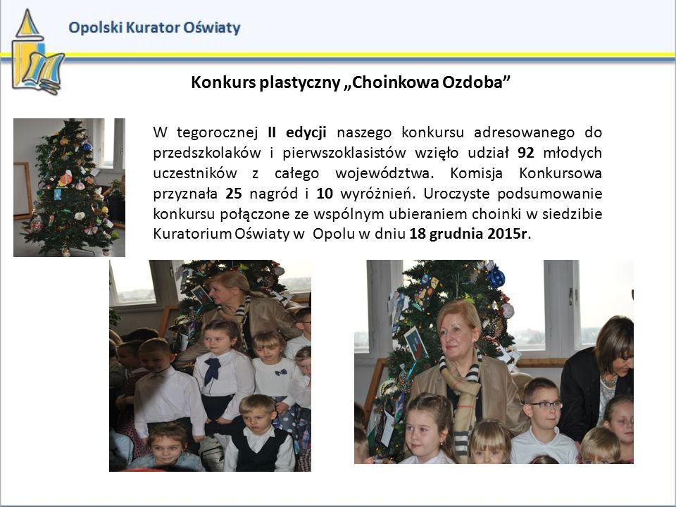 """Konkurs plastyczny """"Choinkowa Ozdoba"""