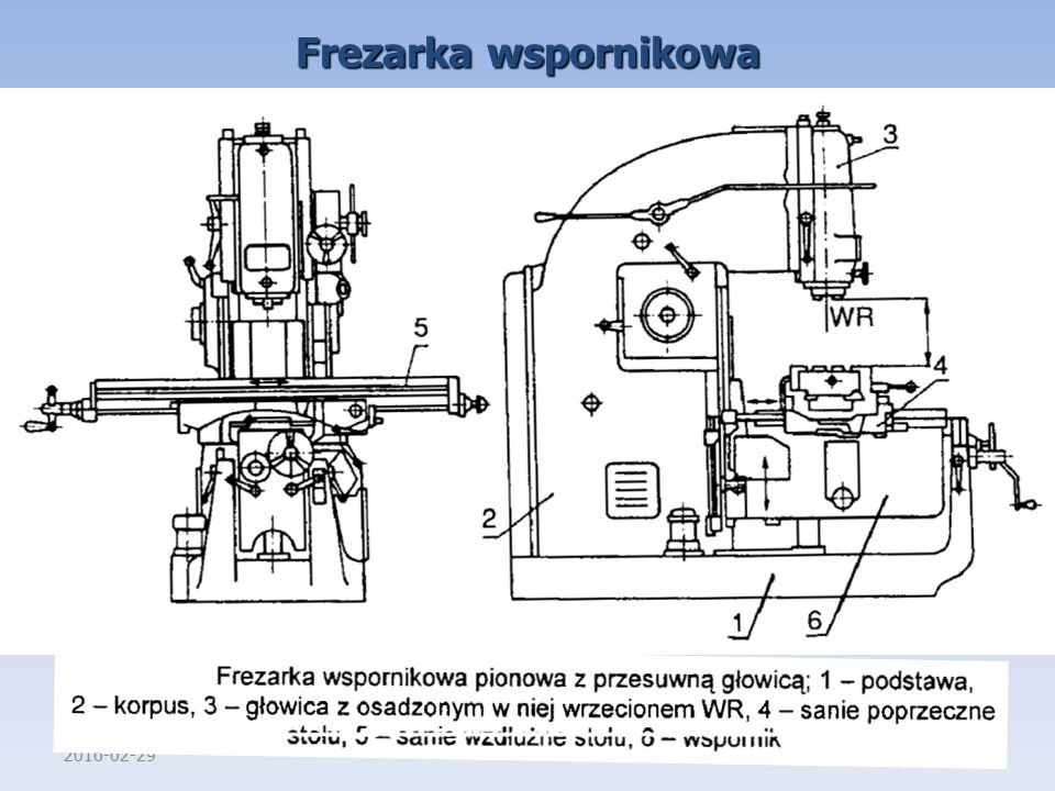 Frezarka wspornikowa 2017-04-27