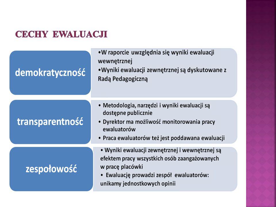 Cechy ewaluacji