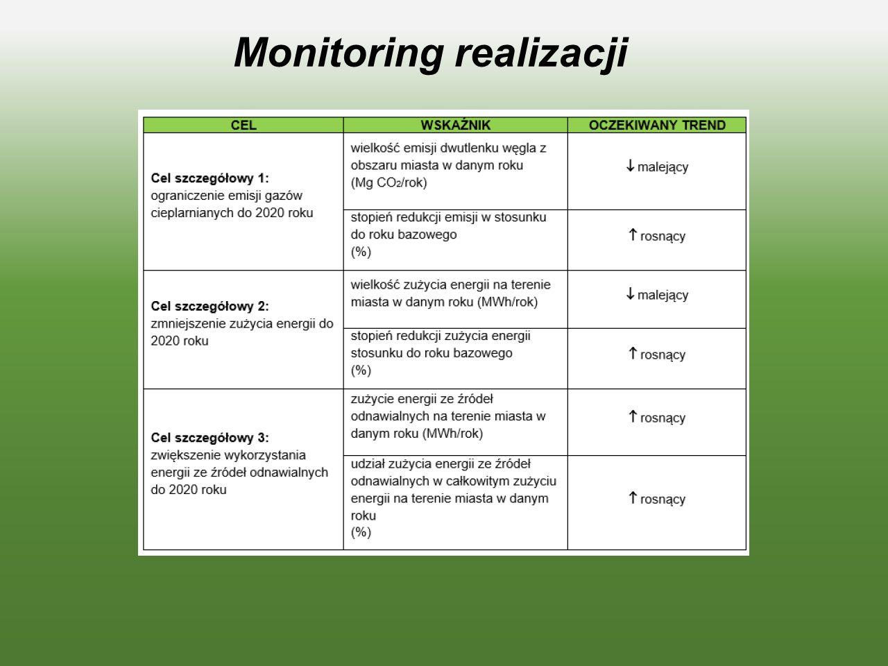 Monitoring realizacji