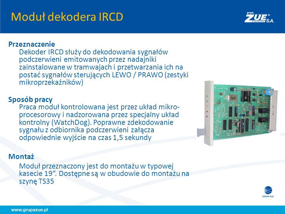 Moduł dekodera IRCD