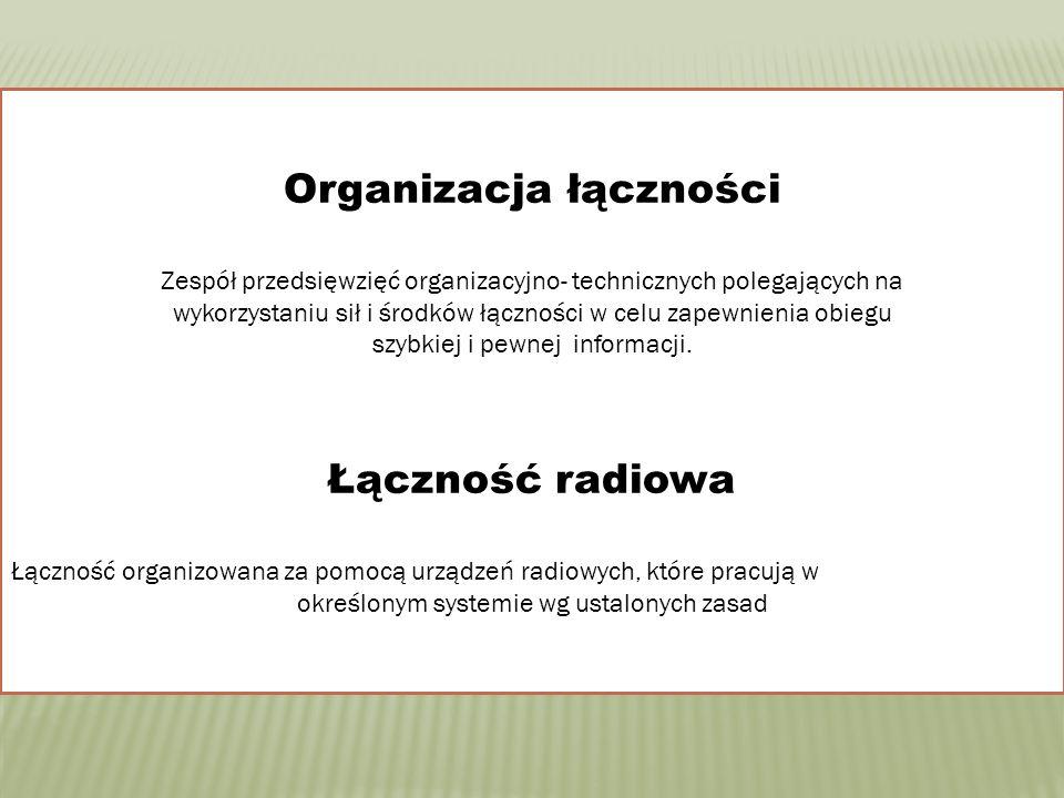Organizacja łączności