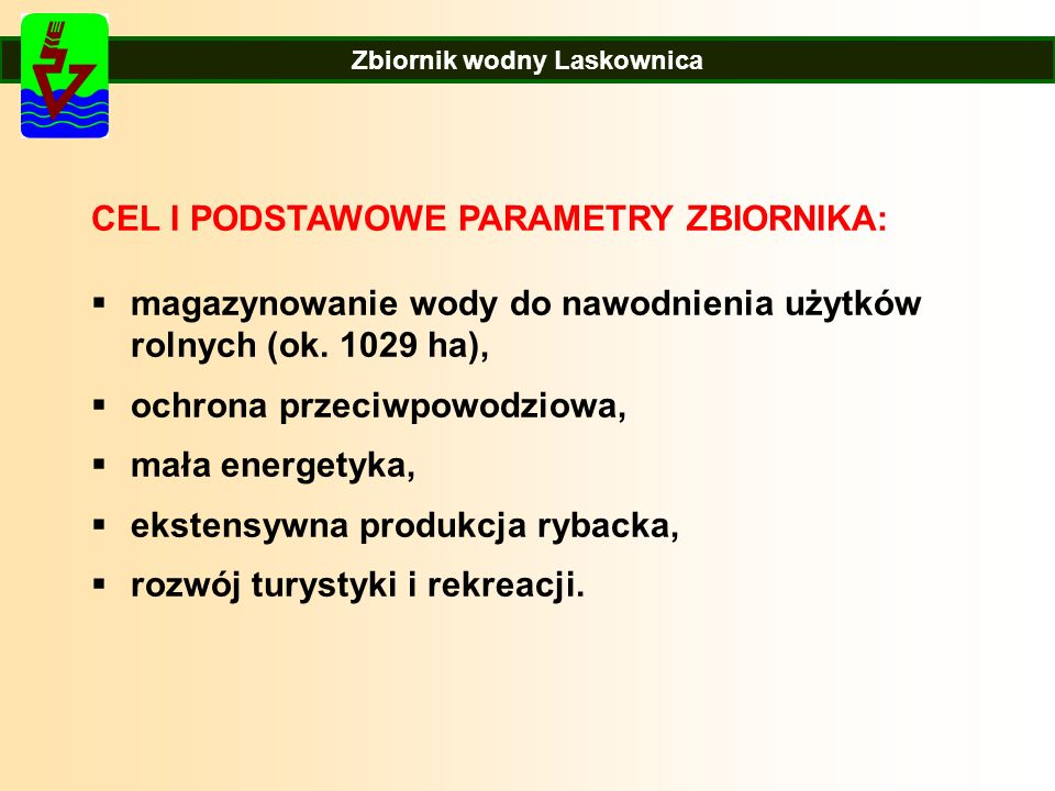 Zbiornik wodny Laskownica