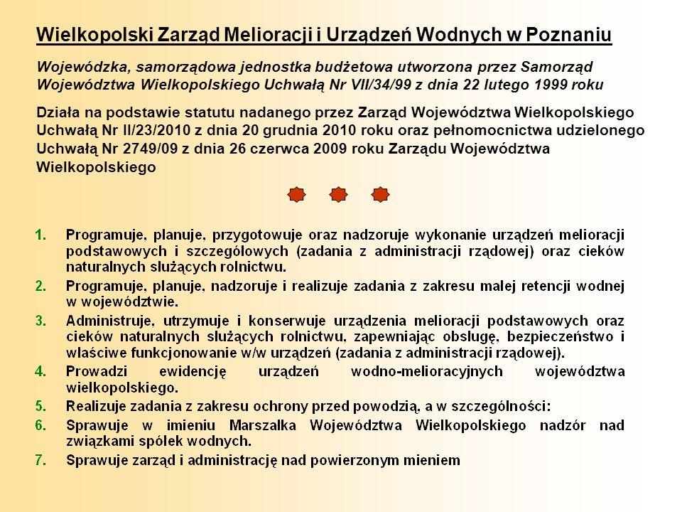 Wielkopolski Zarząd Melioracji i Urządzeń Wodnych w Poznaniu