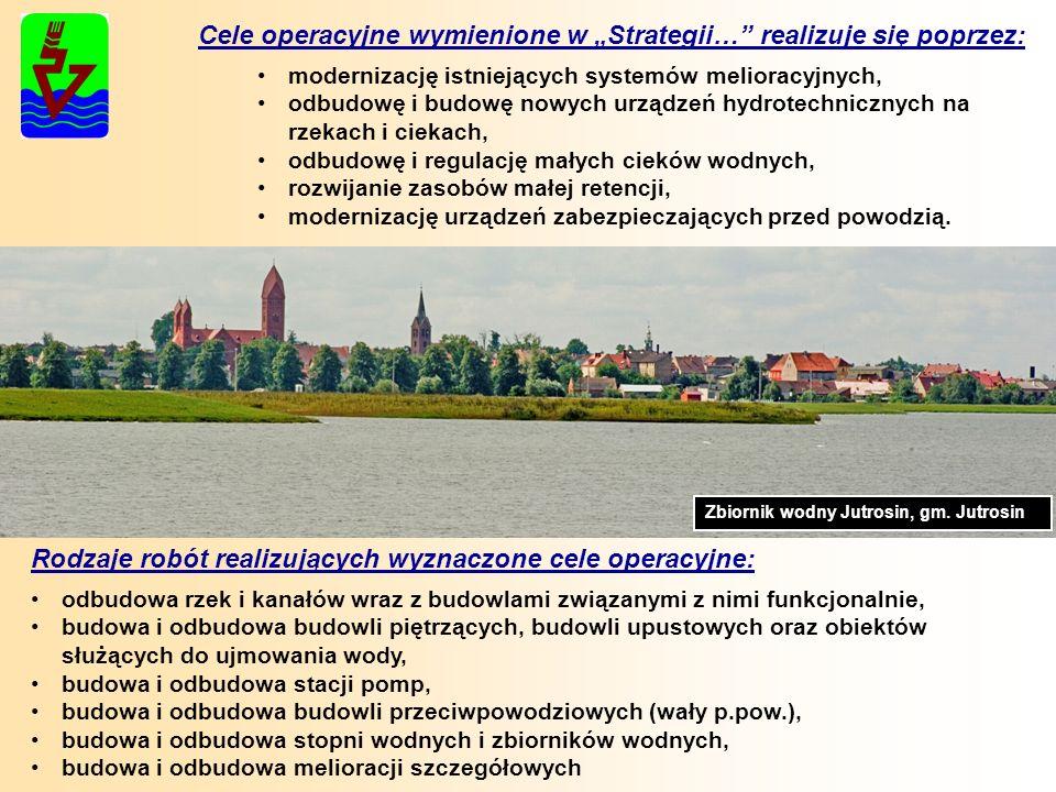 """Cele operacyjne wymienione w """"Strategii… realizuje się poprzez:"""