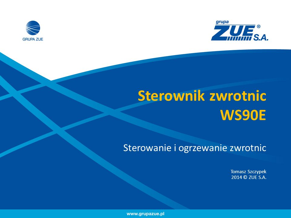 Sterownik zwrotnic WS90E
