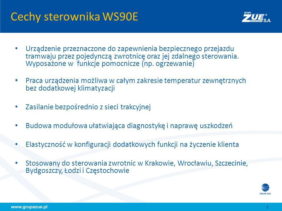 Cechy sterownika WS90E