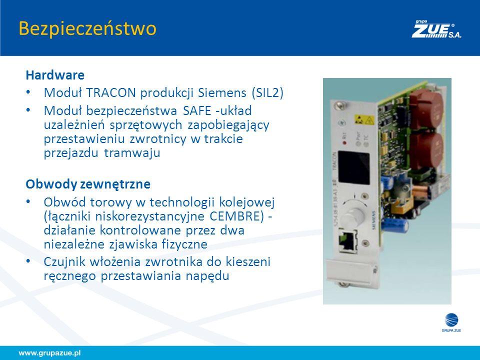 Bezpieczeństwo Hardware Moduł TRACON produkcji Siemens (SIL2)