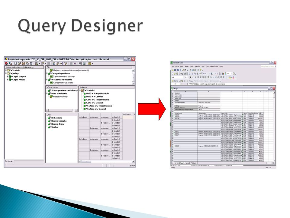 Query Designer