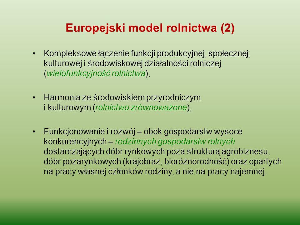 Europejski model rolnictwa (2)