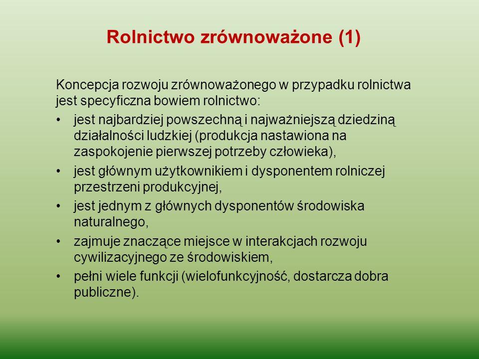 Rolnictwo zrównoważone (1)