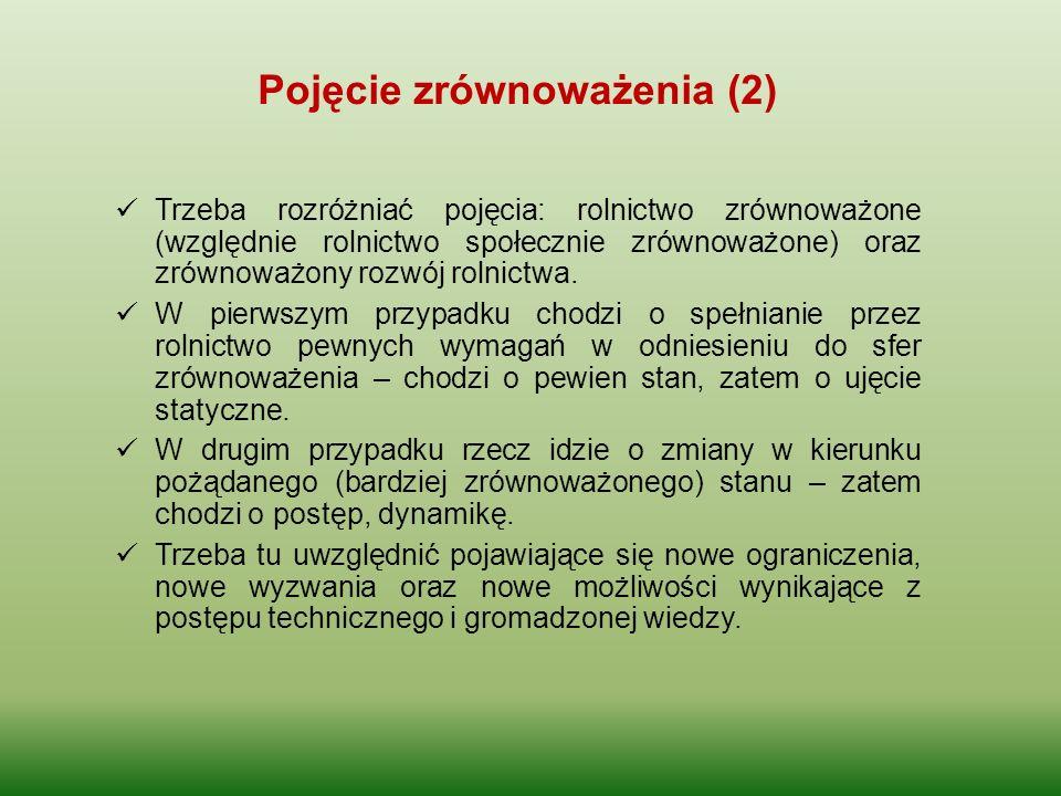Pojęcie zrównoważenia (2)