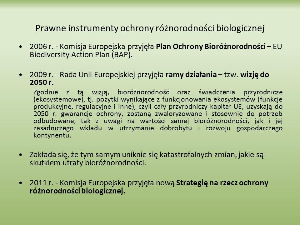 Prawne instrumenty ochrony różnorodności biologicznej