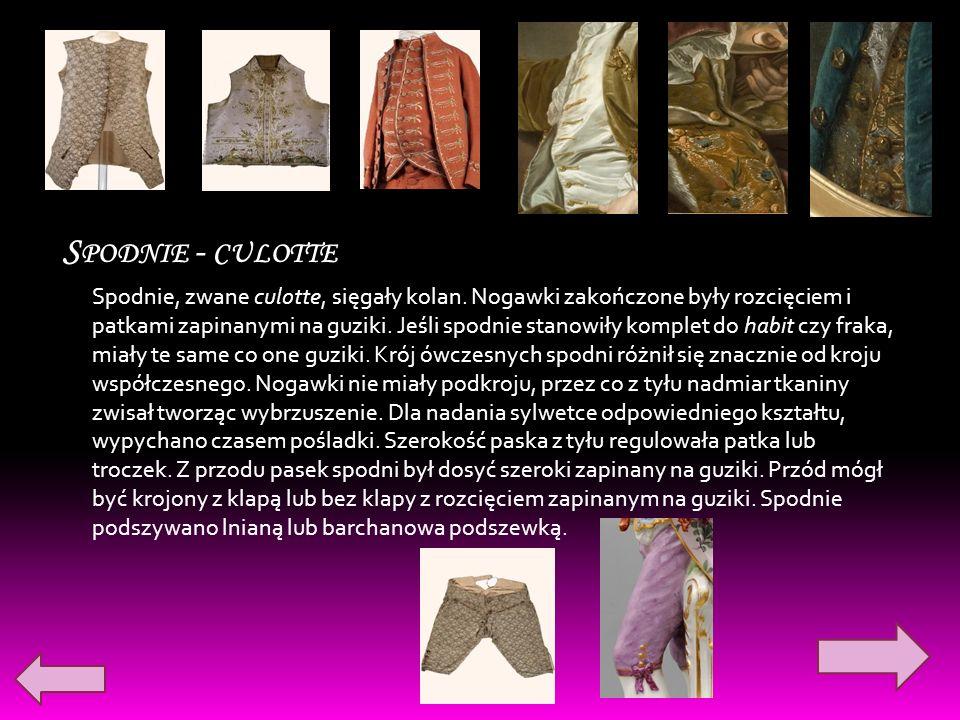 Spodnie - culotte