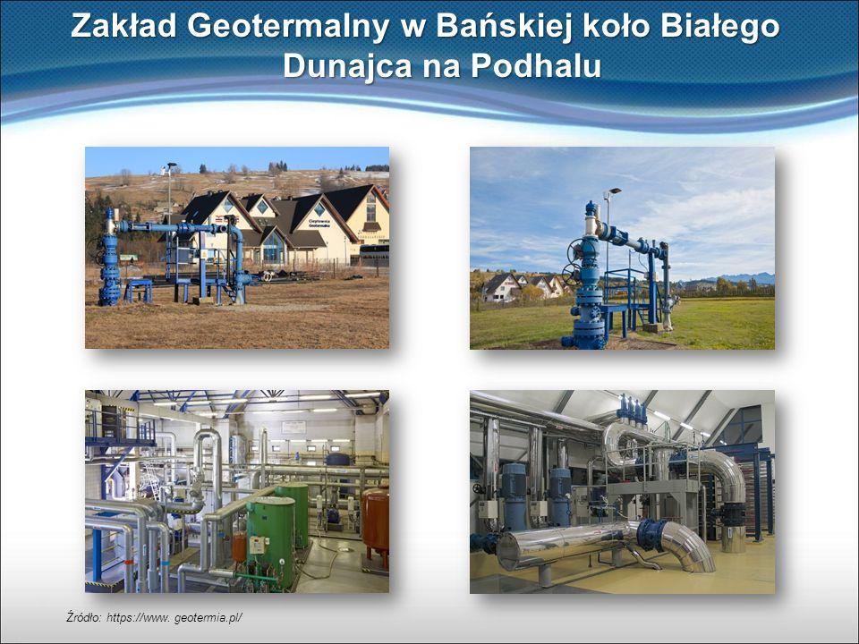 Zakład Geotermalny w Bańskiej koło Białego Dunajca na Podhalu