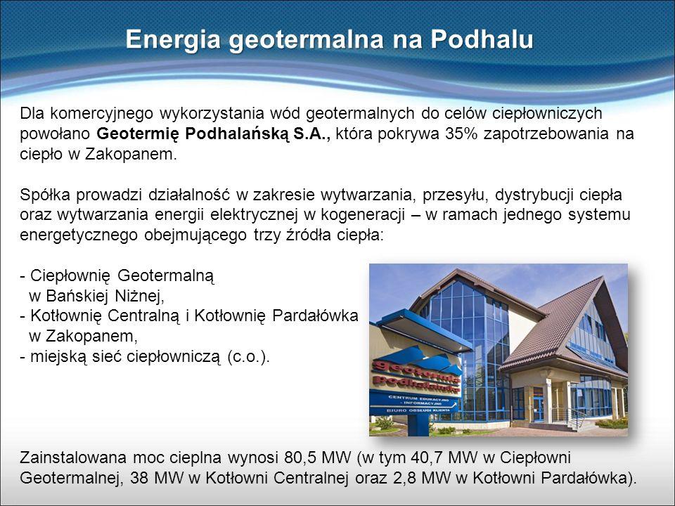 Energia geotermalna na Podhalu