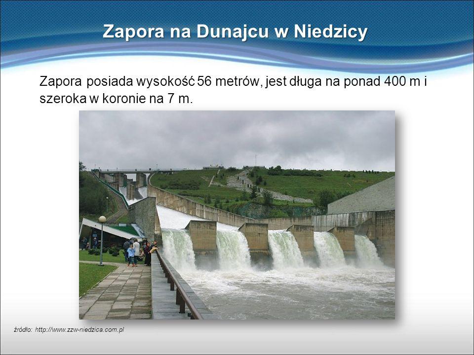 Zapora na Dunajcu w Niedzicy