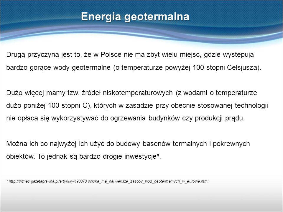 Energia geotermalna