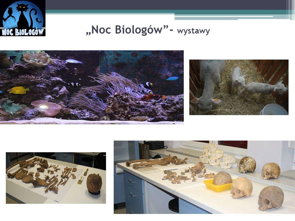 """""""Noc Biologów - wystawy"""