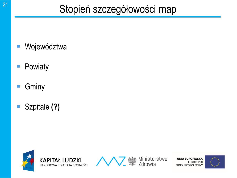 Stopień szczegółowości map