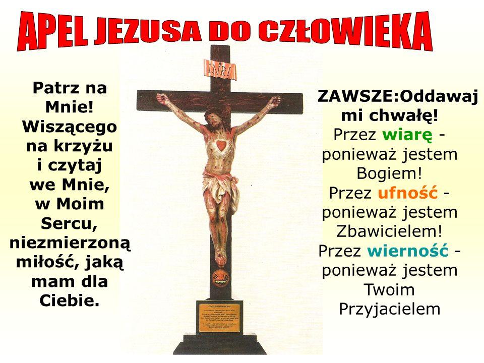 APEL JEZUSA DO CZŁOWIEKA