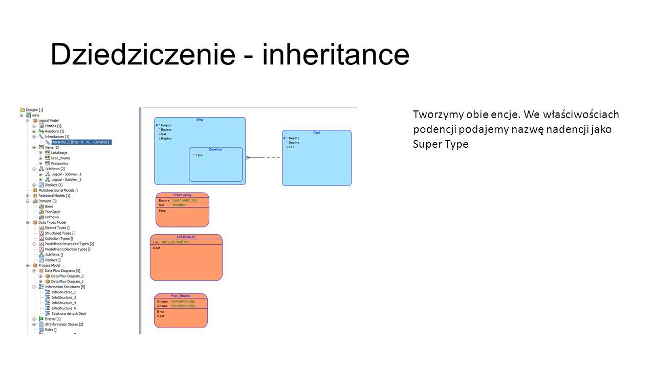 Dziedziczenie - inheritance