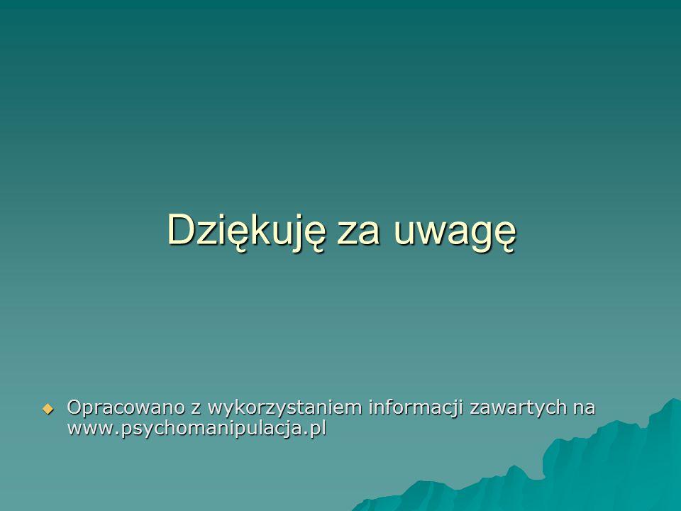 Opracowano z wykorzystaniem informacji zawartych na www