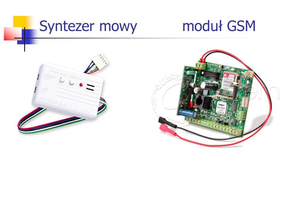 Syntezer mowy moduł GSM