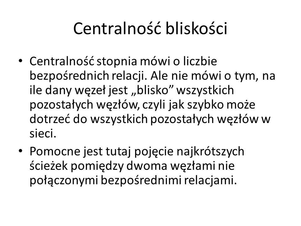 Centralność bliskości