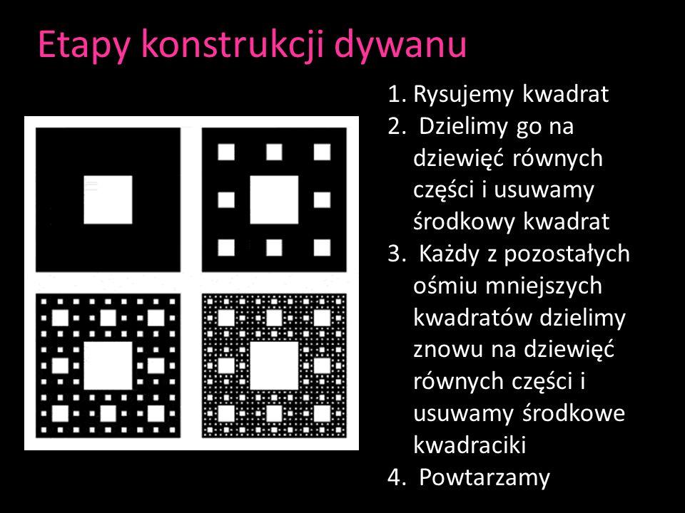 Etapy konstrukcji dywanu