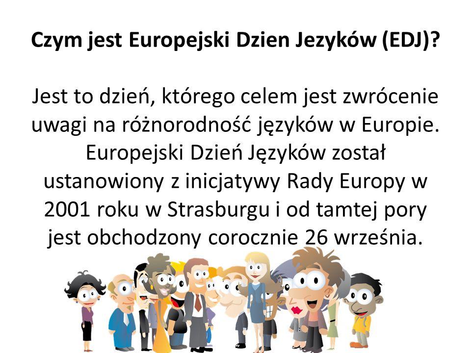 Czym jest Europejski Dzien Jezyków (EDJ)
