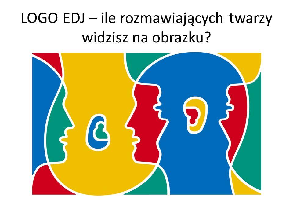 LOGO EDJ – ile rozmawiających twarzy widzisz na obrazku