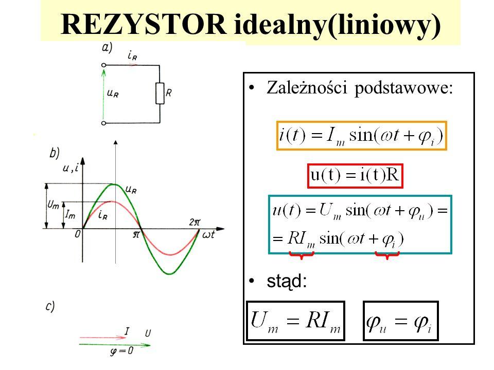 REZYSTOR idealny(liniowy)