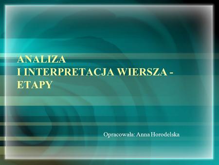 Jan Kochanowski życie I Twórczość Ppt Video Online Pobierz
