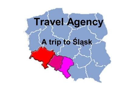 Travel Agency A trip to Śląsk. Something about us… Winter Agency is a tour operator and travel agency providing full services for groups and individuals.