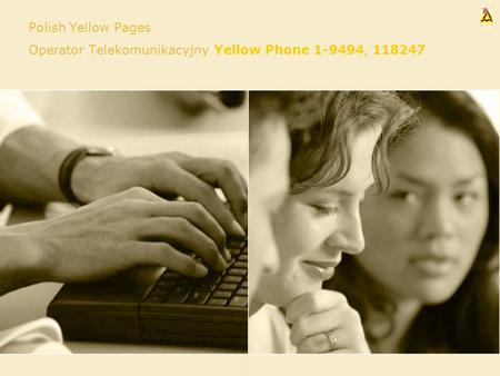 Polish Yellow Pages Operator Telekomunikacyjny Yellow Phone 1-9494, 118247.