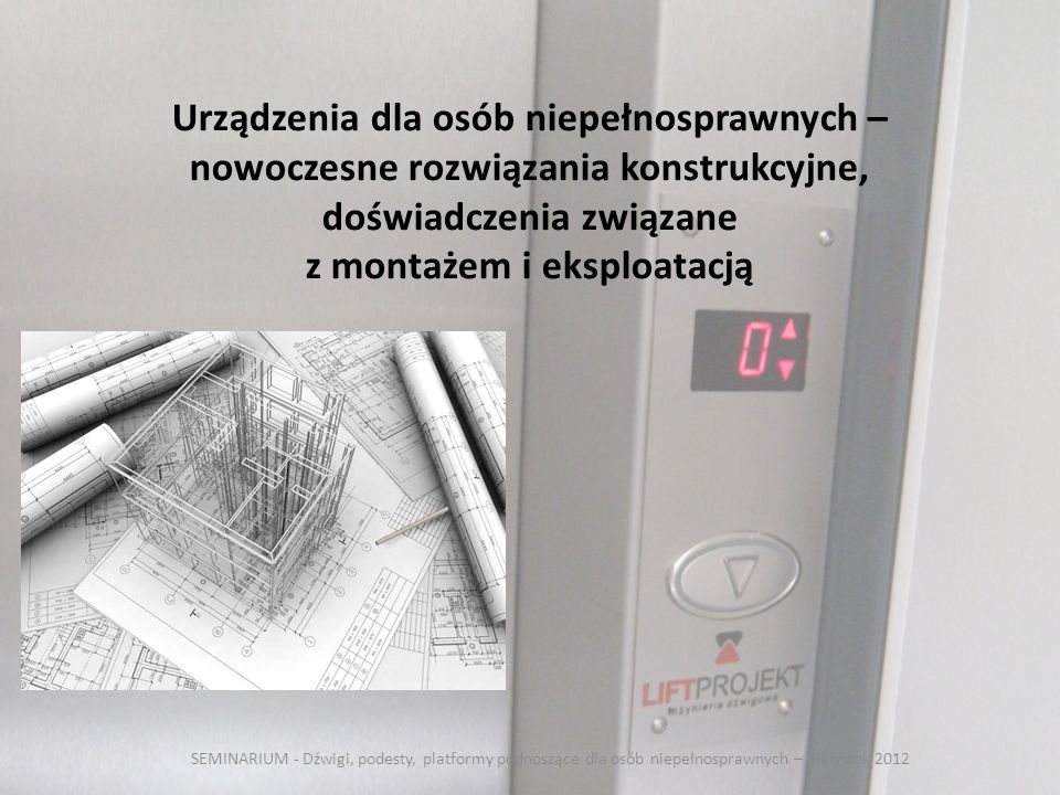 przepisy podnoszące montaż)