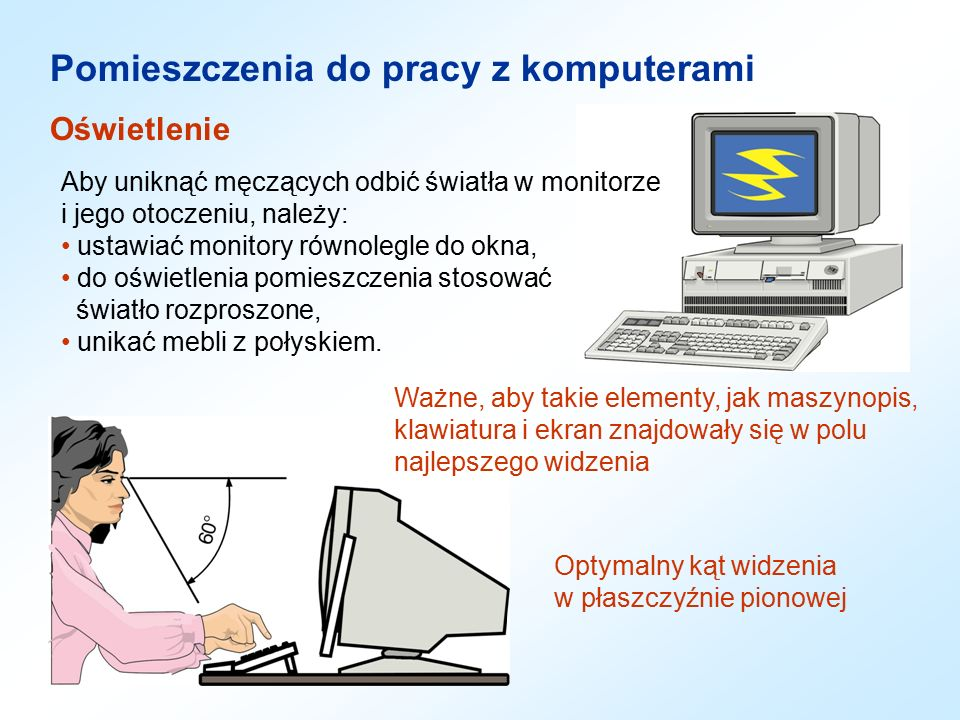 Organizacja Stanowiska Pracy Z Komputerami Ppt Video