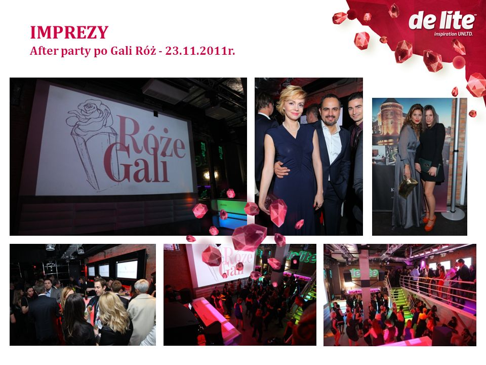 IMPREZY After party po Gali Róż - 23.11.2011r.