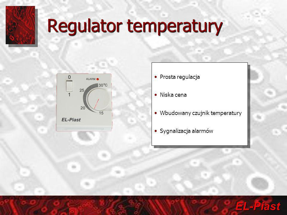 Regulator temperatury