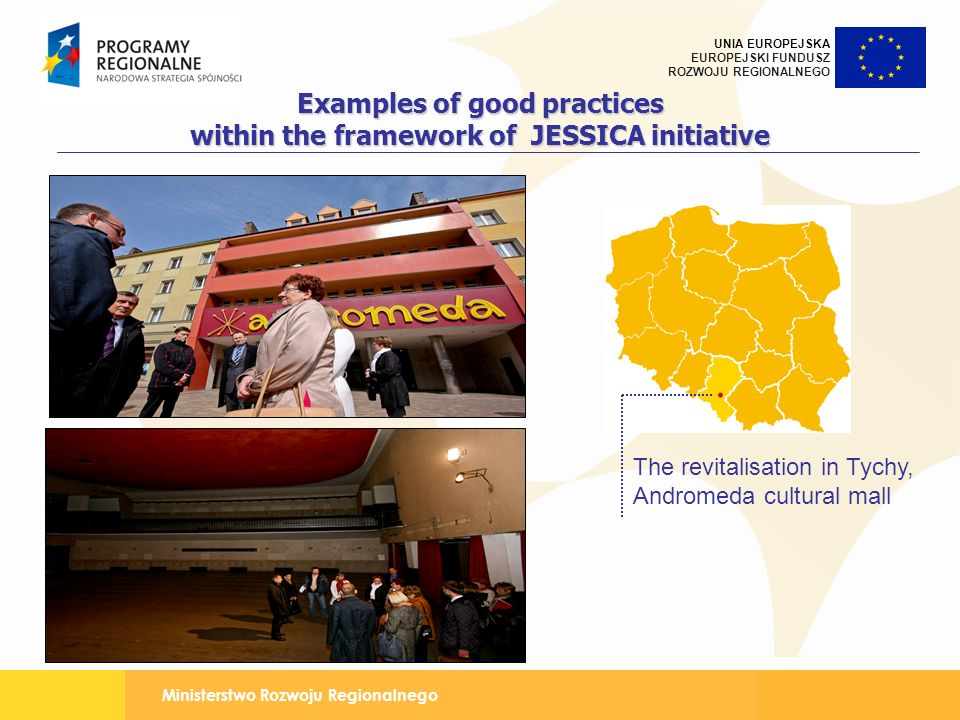 Examples of good practices within the framework of JESSICA initiative